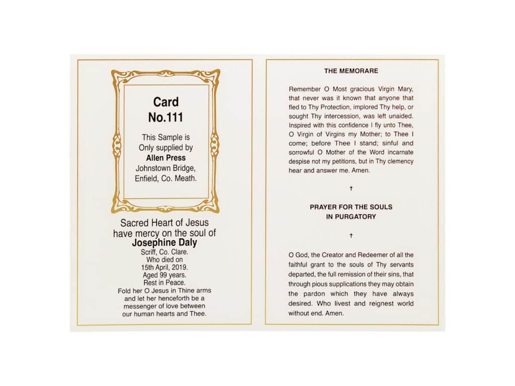 Card 111 Inner